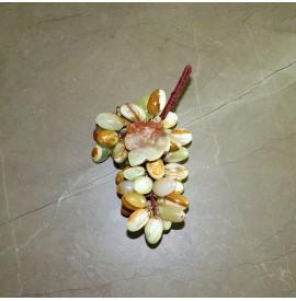 Grappolo uva con foglia