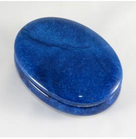 Portagioie in alabastro ovale