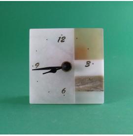 Orologio in alabastro 10x10