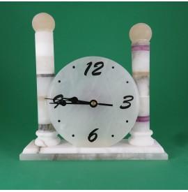 orologio alabastro colonne